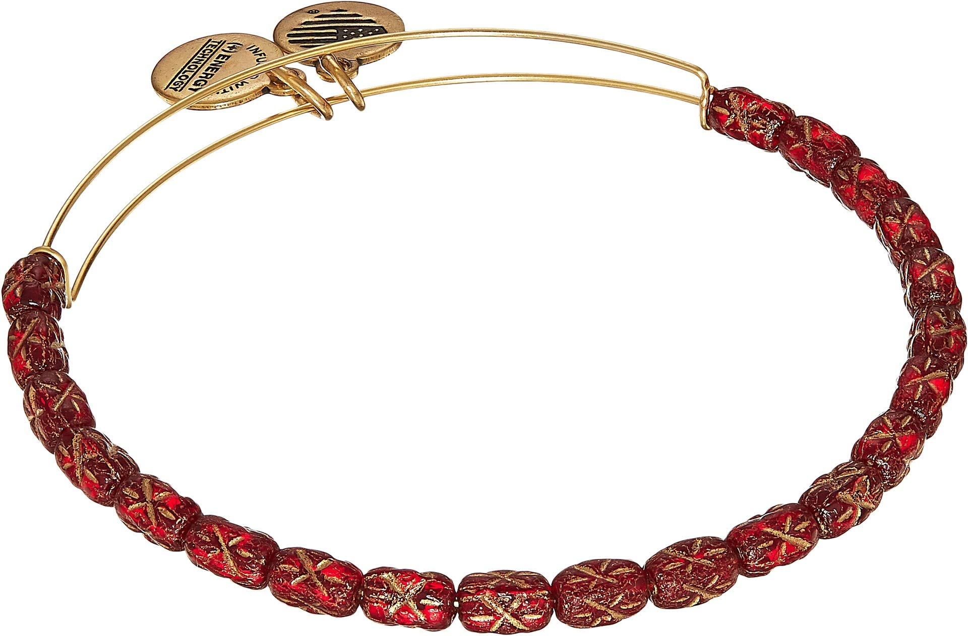 Alex and Ani Women's Starlight Crimson Bracelet Rafaelian Gold One Size