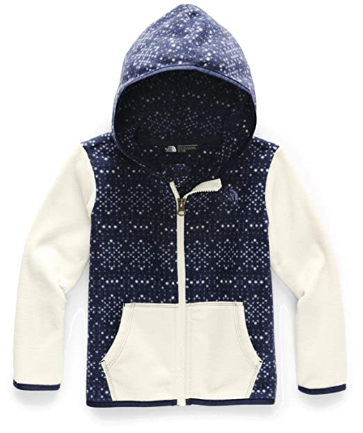 16f6cc07a The North Face Kids Baby Boy's Glacier Full Zip Hoodie (Toddler)