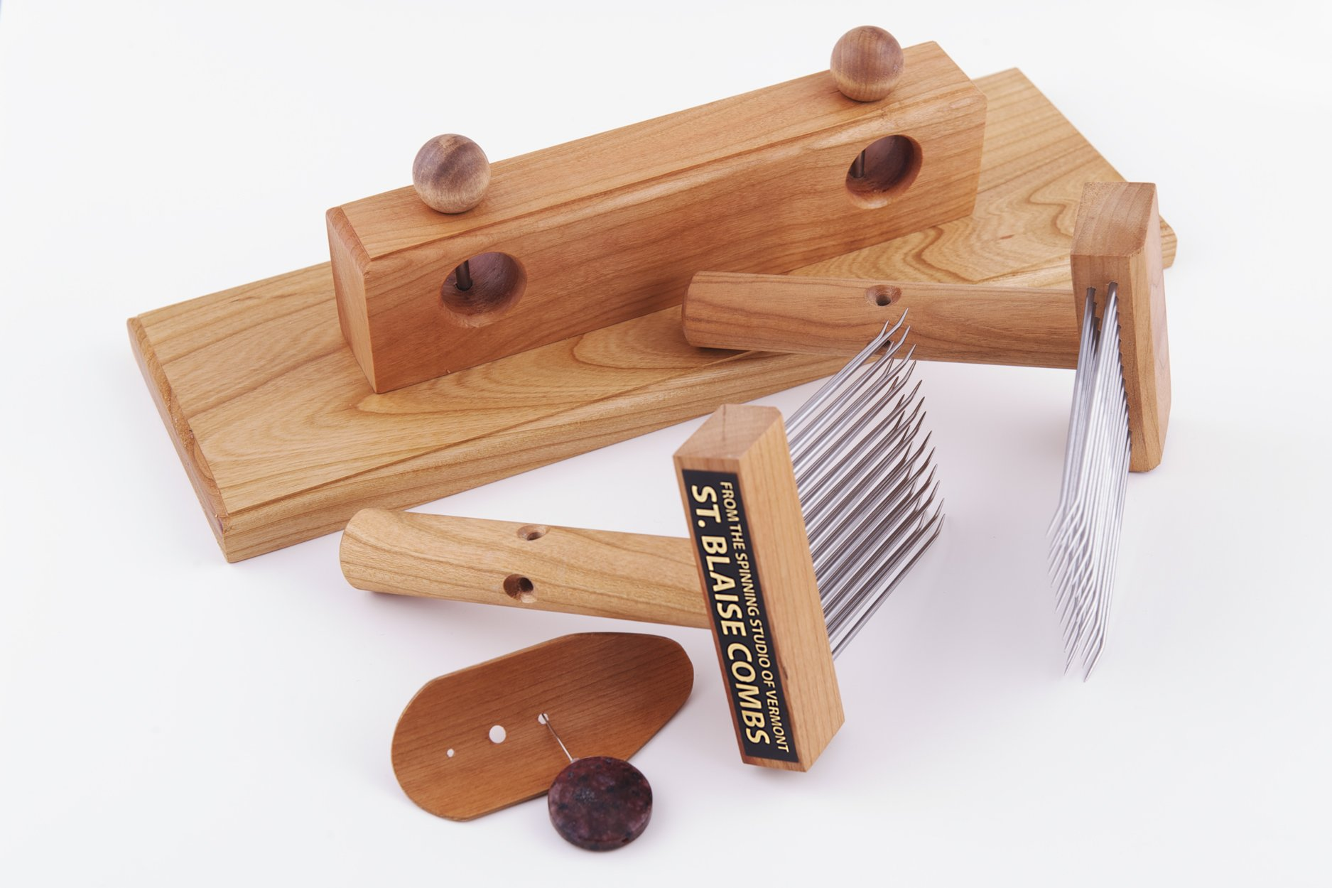 St. Blaise Combs with Table Mount and Diz by Robin Russo by St. Blaise Combs