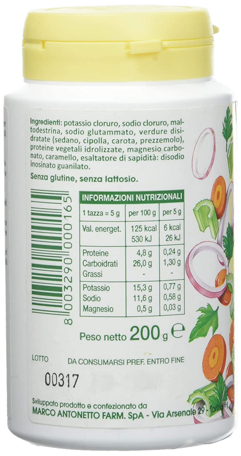 Amazon.com: BrodoSohn Prepared For Vegetable Soup And Seasoning 200g: Health & Personal Care