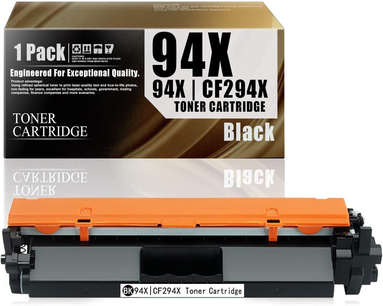 94X   CF294X (1-Pack Black) Compatible Ink Cartridge Replacement for HP Laserjet Pro M118dw MFP M148dw M148fdw M148-M149 M118-M119 Series Toner Cartridge.