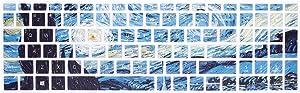 HRH Keyboard Cover for HP Envy x360 15.6''Series /2020 2019 Pavilion 15/Pavilion x360 15.6