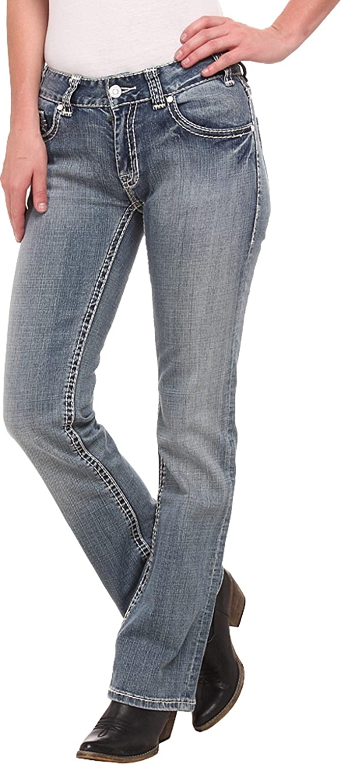 Rock and Roll Cowgirl Women's Mid Rise Bootcut in