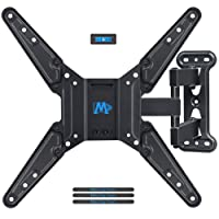 TV Wall Mount Bracket for Most of 26-55 inch LED, LCD, OLED Flat Screen TV with Full Motion Swivel Articulating Arm, up to VESA 400x400mm and 27kg with Tilting, MD2413-MX, by Mounting Dream