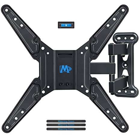 amazon com mounting dream full motion tv wall mounts bracket with