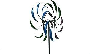 Trademark Innovations Garden Wind Spinner Metal Outdoor Lawn Ornament