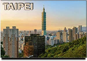 Taipei Fridge Magnet Taiwan Travel Souvenir