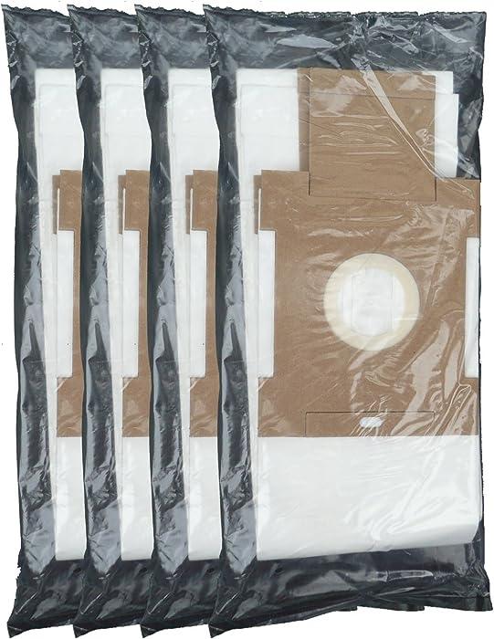 12 Envirocare Vacuum Bags to fit VX3918 Type Nutone Broan Central Vacuum Cleaner Bags 6 Gallons Model# VX550 VX1000, VX475, VX3918, VX3916, 784891776717