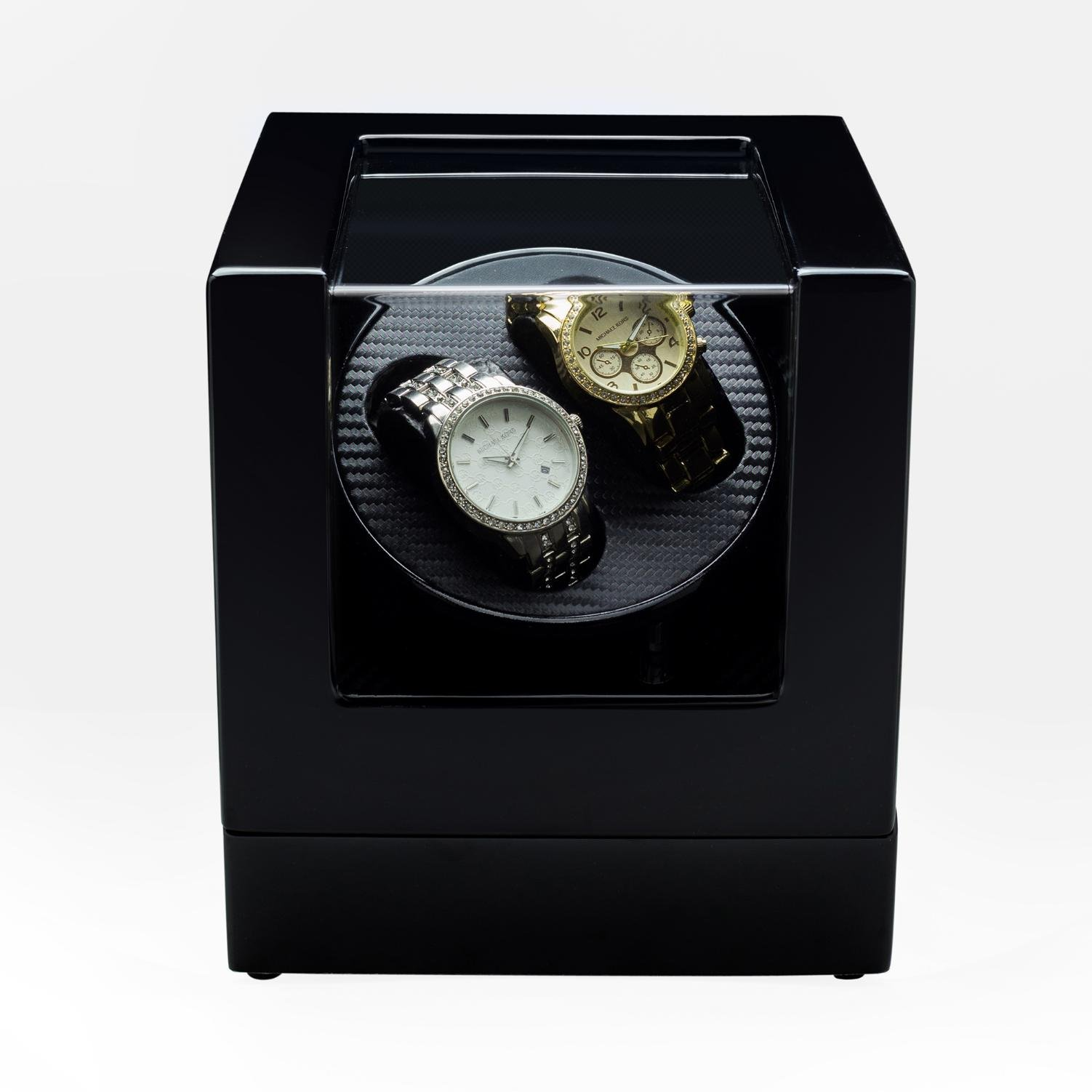 jianbo Automatic Watch Winders Winder storages box Display Box Case Quiet Mabuchi Motors WB6931 , C