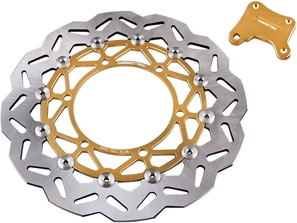 GZYF Front Brake Disc Rotor Fits Kawasaki NINJA 250 R 2008-2012
