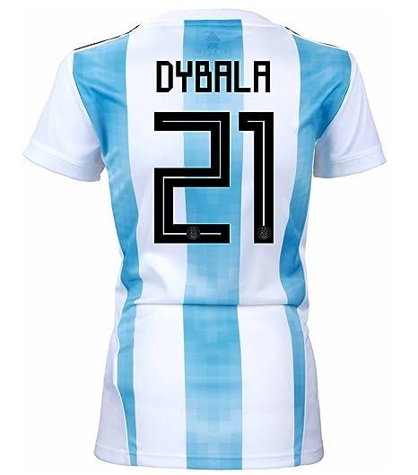 adidas Dybala #21 Argentina Home - Camiseta de fútbol para ...