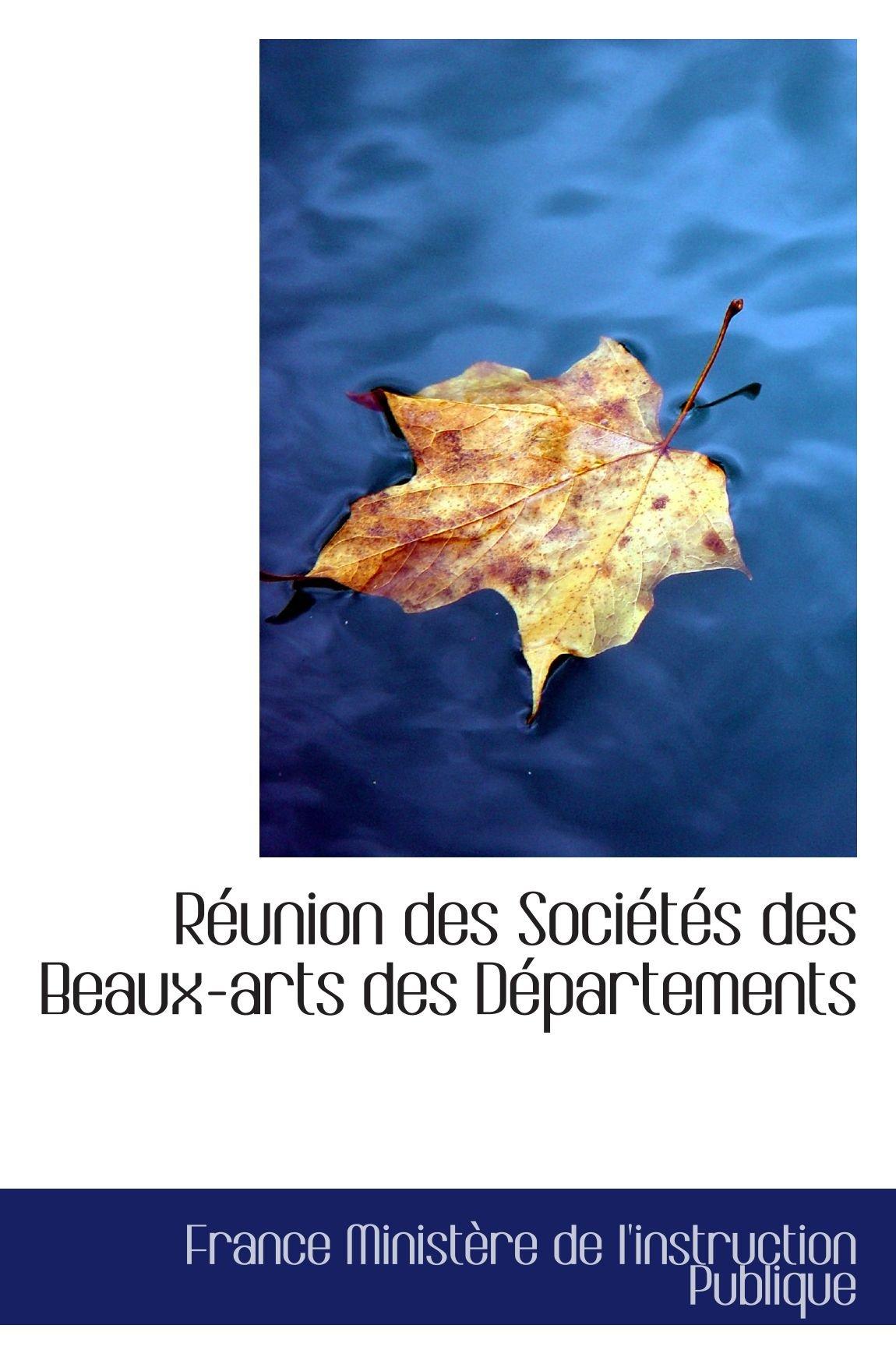 Réunion des Sociétés des Beaux-arts des Départements pdf