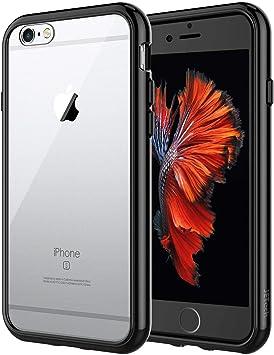JETech Funda para iPhone 6s iPhone 6, Bumper Anti-Choques y Anti-Arañazos, Negro: Amazon.es: Electrónica