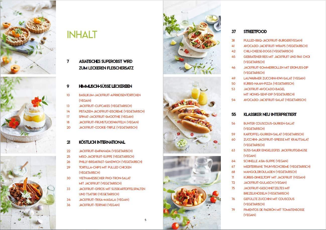Kochen mit Jackfruit: 35 vegetarische und vegane Rezepte: Amazon.es: Sabrina Sue Daniels: Libros en idiomas extranjeros