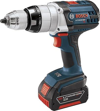 "NEW Bosch 18v Cordless Hammer Drill 1//2/"" Chuck HDH181X Lithium Ion LED"