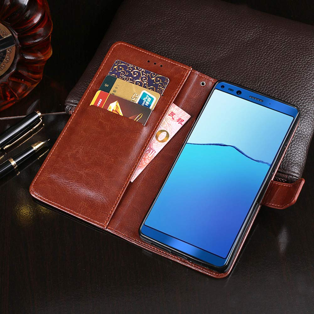 Amazon.com: Doogee Mix 2 Case, PU Leather Stand Wallet Flip ...