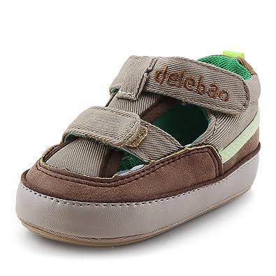 cfe61c9a3fca4 DELEBAO Sandale Bébé Garcon Été Chaussure Premier Pas pour Bébé Chausson  Enfant  Amazon.fr  Chaussures et Sacs