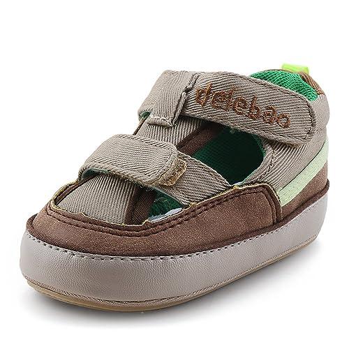 DELEBAO Zapatos Bebé Niño Sandalias Bebe Zapatillas Verano para Bebes con Suela Antideslizante Suave para Primeros Pasos para Los Niños: Amazon.es: Zapatos ...