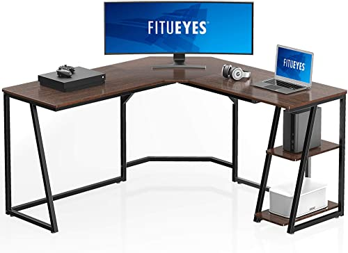 FITUEYES L Shaped Desk