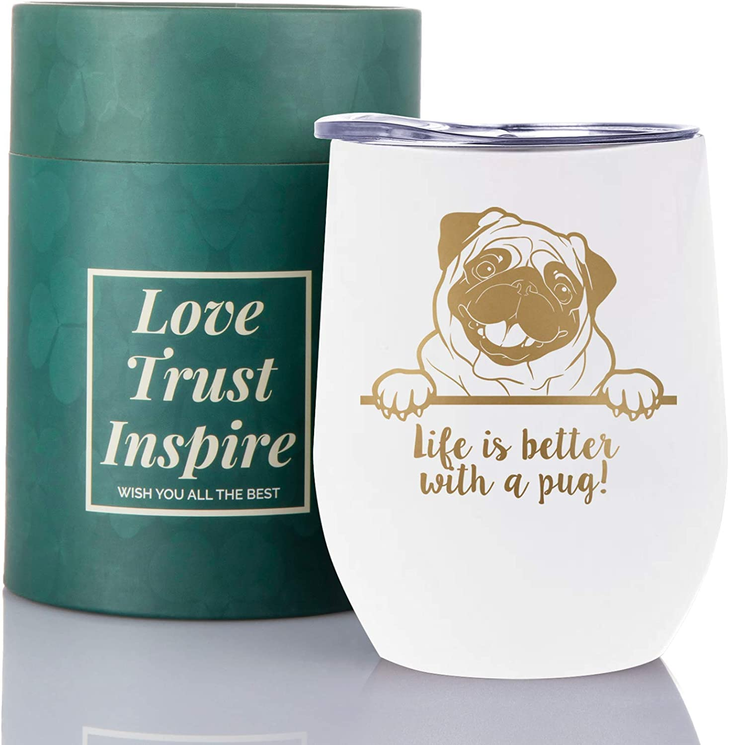 Pug Ranking TOP8 Gifts for Lovers Dog 350 Dad Mom 12oz Discount is also underway Lover