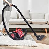 Costway 1.5L Cylinder Vacuum Cleaner Carpet Cyclonic Washable Filter Bagless HEPA Hoover
