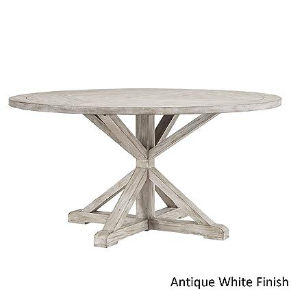 Amazon.com - Inspire Q Benchwright Rustic X-Base Round Pine ...