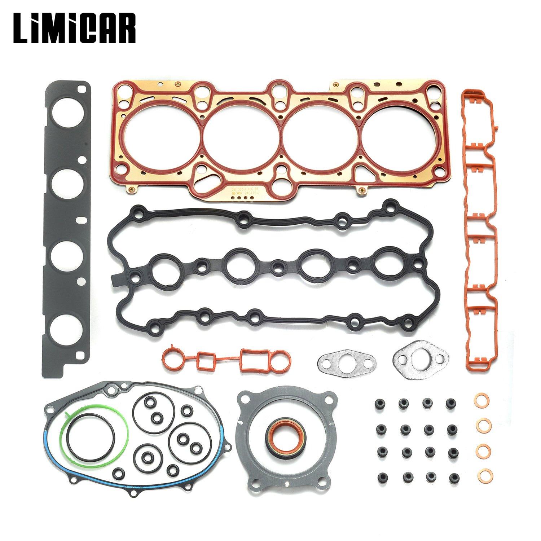 LIMICAR Cylinder Engine Head Gasket Set For 2005-2008 Audi A3 Audi A4 Quattro 2006-2008 Volkswagen GTI Passat 2007-2008 Volkswagen Eos 2.0L TURBO DOHC ...