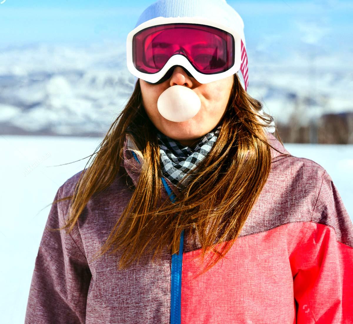 100/% UV Protection Women /& Youth 100/% UV Protection Unigear Skido X1 Ski Goggles VLT 12/% Women /& Youth Revo Blue Lens Anti-Fog Snowboard Goggles for Men