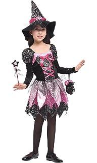 Christy S Madchen Spellbound Hexe Kostum 8 10 Jahre Amazon De