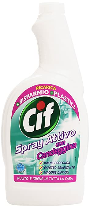 7 opinioni per Cif- Spray Attivo, Con Candeggina , 750 ml