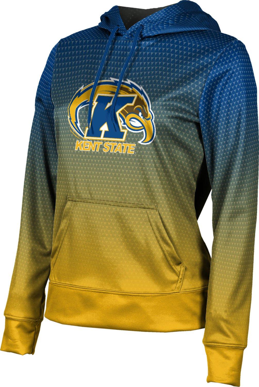 Kent State University Pullover Hoodie - Licensed Collegiate Women's Micro-Poly Fabric Sweatshirt