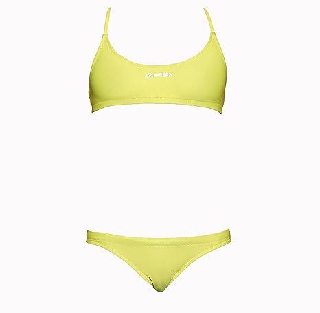 6040d79a9125 IMPERA Costume da Allenamento Nuoto, Due Pezzi da Donna, Resistente al  Cloro, possibilità