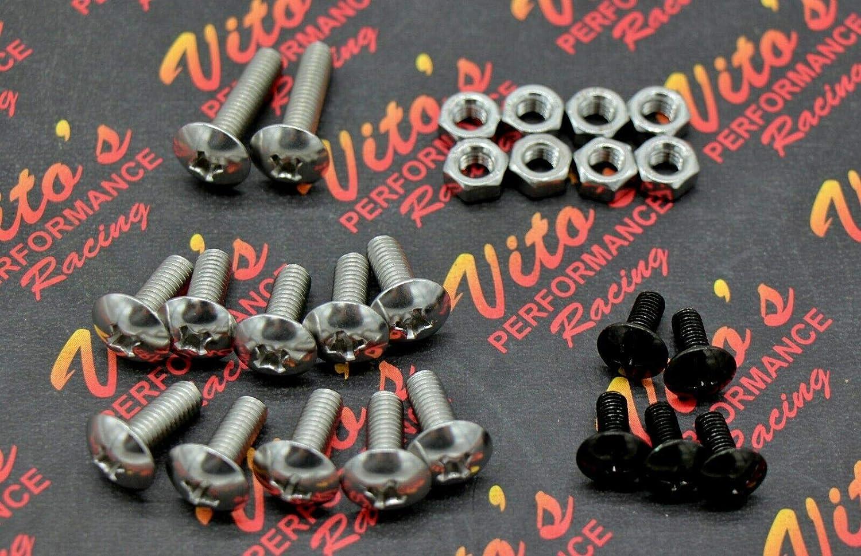 17 piece fender bolts screws mount kit hardware For Yamaha Banshee 350 YFZ350