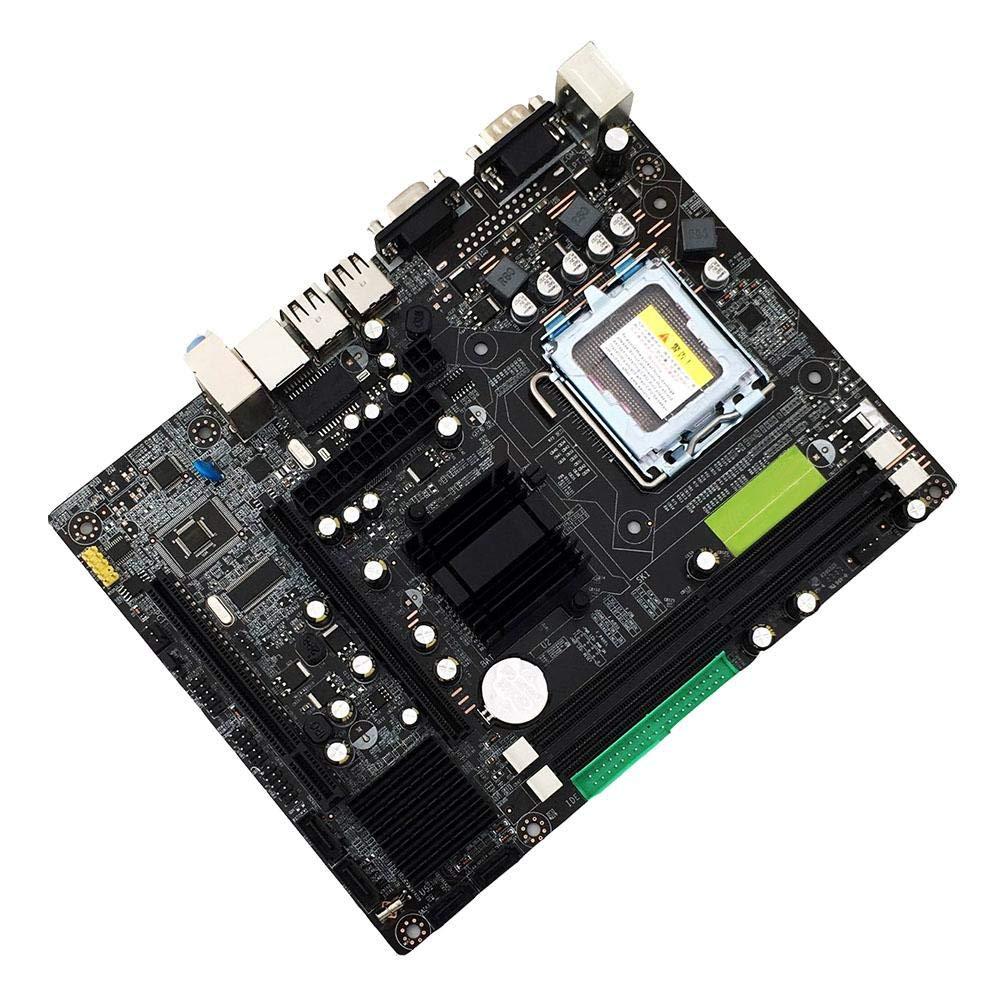 keruite 945GC Computadora de Escritorio Placa Base LGA-775 ddr2 Tarjeta de Sonido de Tarjeta de Sonido de gr/áficos de Chip Integrado 4G Memoria DDR2