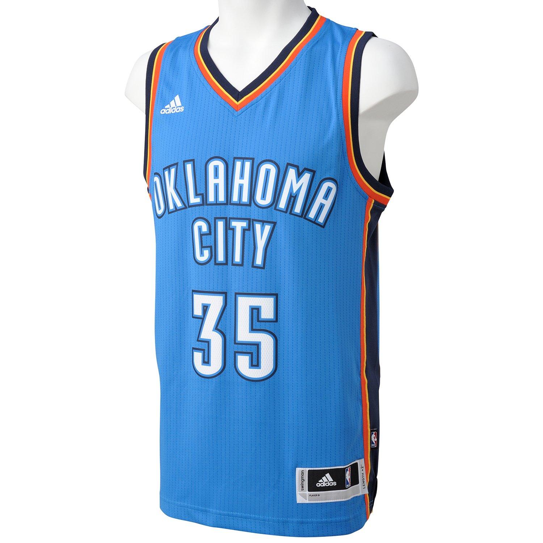 adidas Basketball Oklahoma City Thunder Swingman Trikot Camiseta, Hombre: Amazon.es: Deportes y aire libre