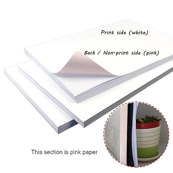 Amazon.com: LIWUTE - Papel de transferencia de impresora ...