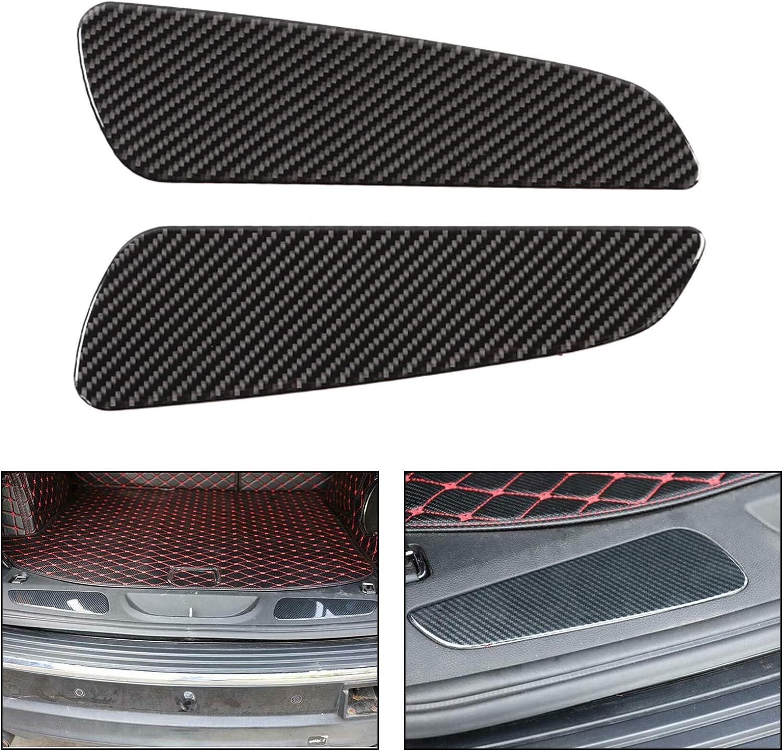Artudatech Real Carbon Fiber Rear Bumper Inner Panel Trim for Grand Cherokee 2011-2019