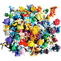 Sconosciuto Wholesale Mixed Lots 24pcs Pokemon Mini Random Pearl Figures New Hot Kids Toy