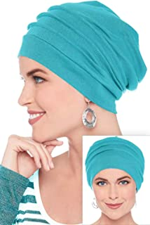 62d3cd9d639 Headcovers Unlimited Slouchy Snood-Caps for Women with Chemo Cancer Hair  Loss