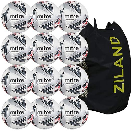Mitre Ultimatch - Balón de fútbol Sala, 12 Unidades: Amazon.es ...