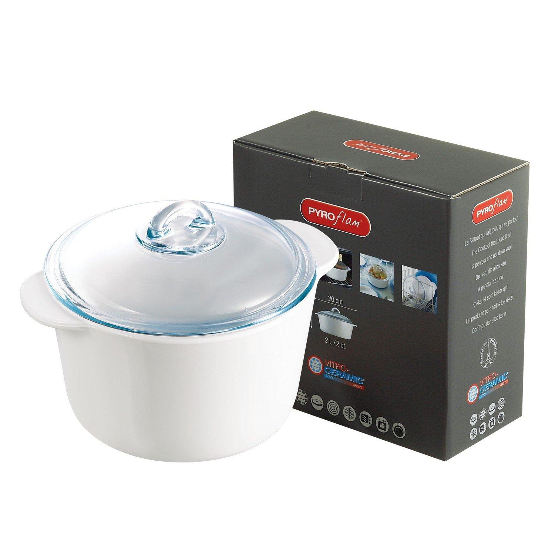 Pyro Flam vitro-cerámica olla cazuela 1 litro: Amazon.es: Hogar