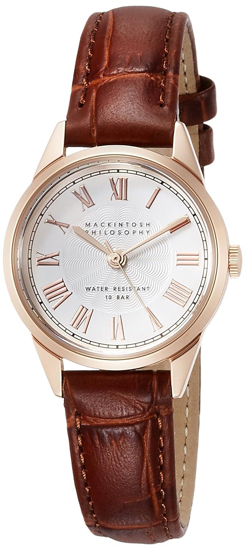 [マッキントッシュフィロソフィー]MACKINTOSH PHILOSOPHY 腕時計 MACKINTOSH PHILOSOPHY ビンテージ調デザイン ローマダイヤル FCAK993 レディース B075295PPM