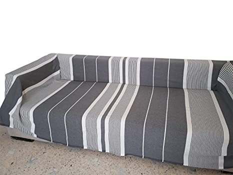 Magia del Mundo - Manta de sofá - Manta sofá, grande, Gris ...