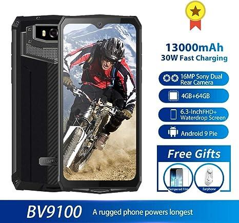 BV9100 Smartphone Reforzado con la batería 13000mAh (60 días en ...