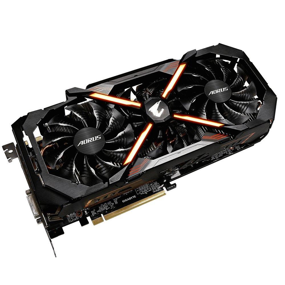 Gigabyte AORUS GeForce GTX 1080 Ti 11GB Graphic Cards GV-N108TAORUS-11GD by Gigabyte (Image #2)