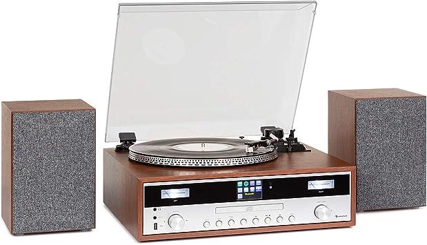 auna Birmingham Equipo estéreo HiFi: Amazon.es: Electrónica
