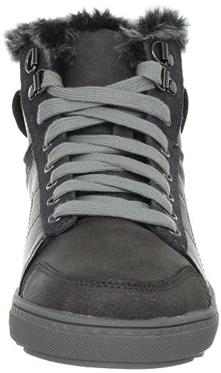 Kicks Coolest, Sneakers Hautes femme, Noir, 35 EU (2 UK)Skechers