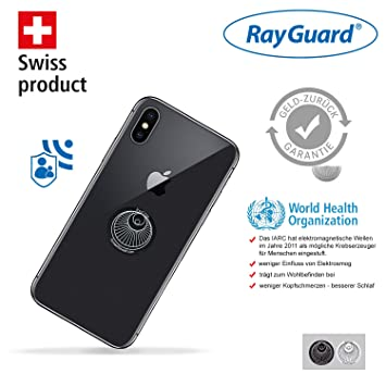 Rayguard 2 X Emf Elektrosmog Abschirmung Schutzschild Amazon De