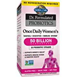 Garden of Life Dr. Formulated Probiotics for Women, Once Daily Women's Probiotics, 50 Billion CFU Guaranteed, 16 Strains, She