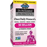 Garden of Life Dr. Formulated Once Daily Women's Shelf Stable Probiotics 16 Strains, 50 Billion CFU Guaranteed Potency…